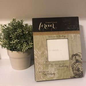 God Bless Our Marriage | Ruth 1:16 picture frame